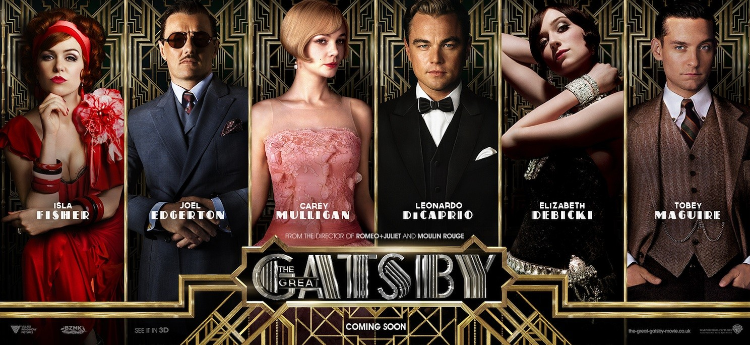 Filmbook Review The Great Gatsby  Writers  Books Gatsbycast